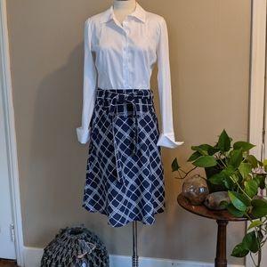 Burberry wrap skirt - size 4